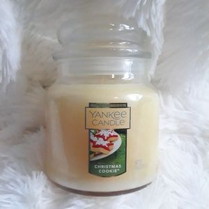 Yankee Candle Christmas Cookie candle jar